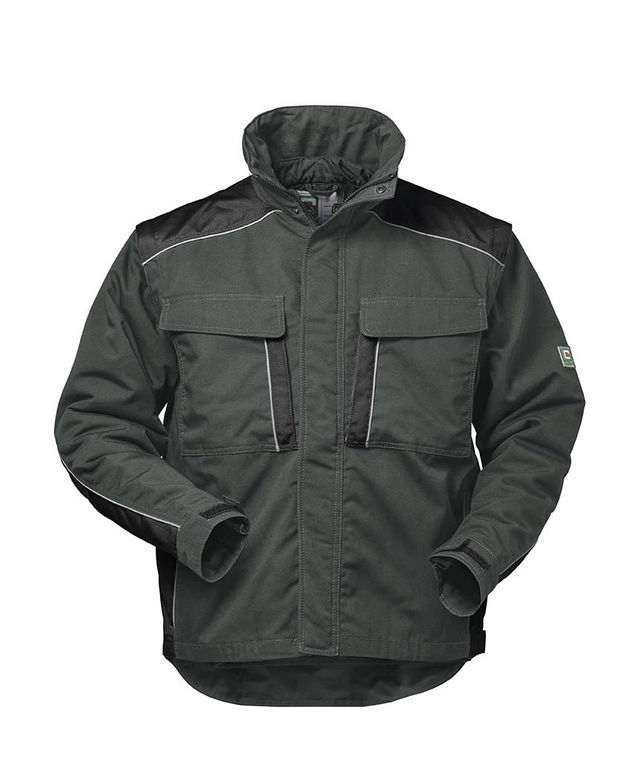 *GENF* 2 IN 1 CANVAS OUTDOORJACKE