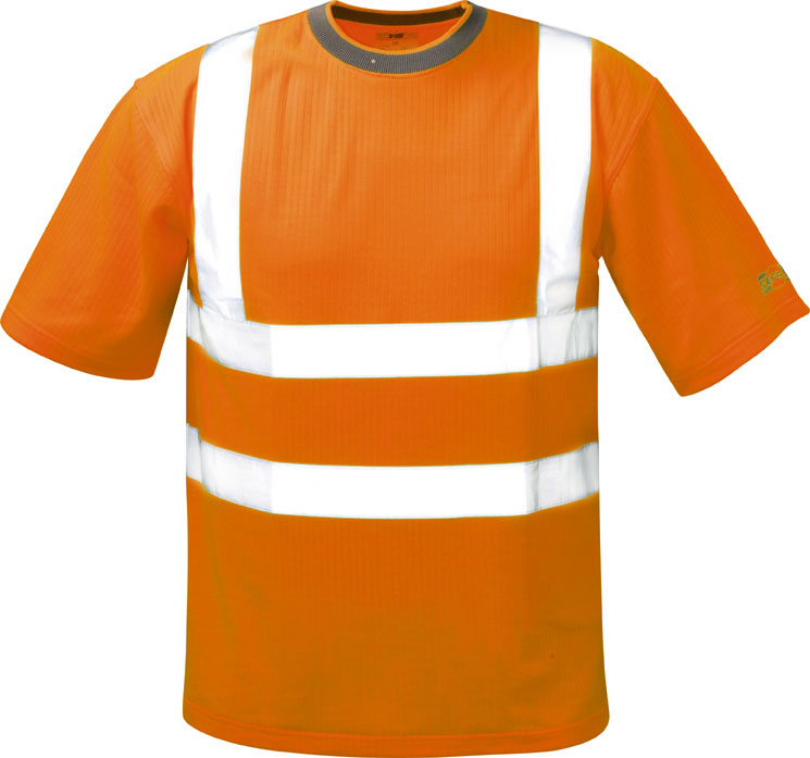 *BRIAN* WARNSCHUTZ-T-SHIRT ORANGE