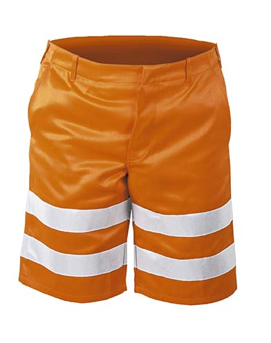 *PETER*  WARNSCHUTZ-SHORTS ORANGE