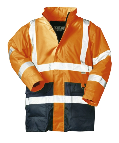 *ALEXANDER* 2IN1 WARN-PARKA ORANGE