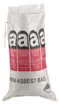 MINI-ASBESTBAG, 70 x 110 CM